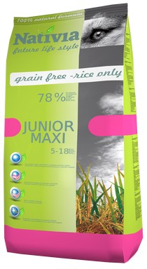 NATIVIA JUNIOR MAXI | CHICKEN & RICE