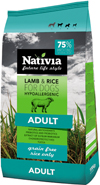 NATIVIA ADULT | LAMB & RICE