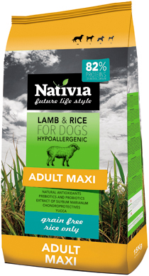 NATIVIA ADULT MAXI | LAMB & RICE