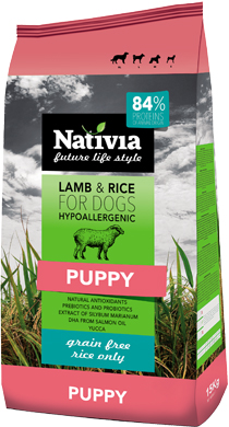 NATIVIA PUPPY | LAMB&RICE