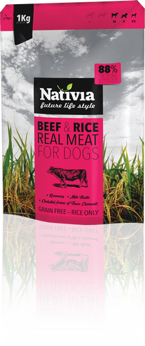 REAL MEAT - Beef&Rice