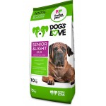 Dog´s love Senior&Light - 10Kg