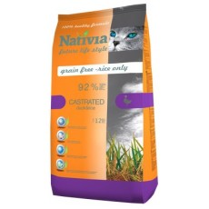 Nativia Castrated - Duck&Rice 10 kg