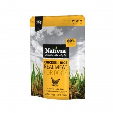 Nativia Real Meat - Chicken&Rice 1 kg