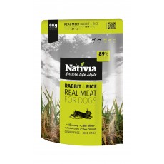 Nativia Real Meat - Rabbit&Rice 8 kg
